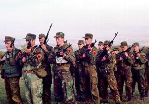 Практически все боевики в Албанской мафии, это прошедшие войну бойцы