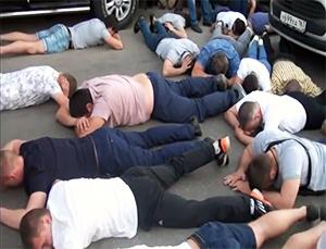 Задержанные участники стрелки в Самаре