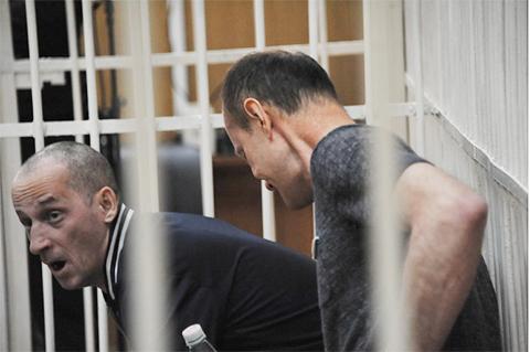 Александр Черепянко и Вячеслав Еременко