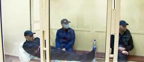 Рожков во время оглашения приговора