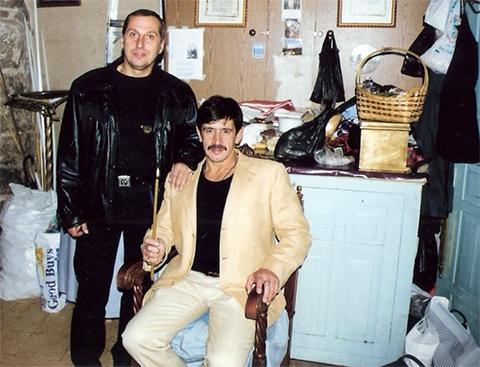 Слева: вор в законе Александр Тимошенко (Тимоха) и Константин Яковлев (Костя Могила)