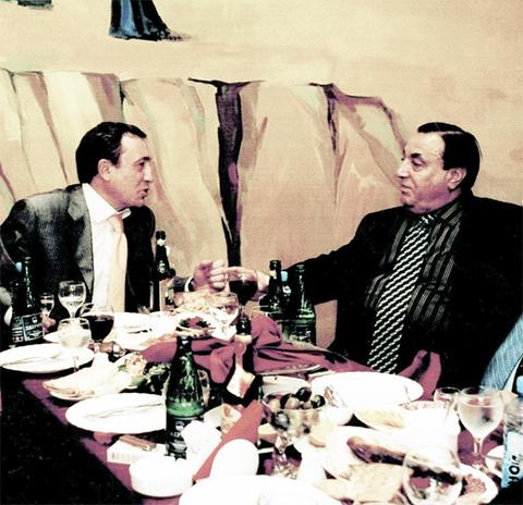 Криминальный авторитет Акоп Меликсетян и Дед Хасан