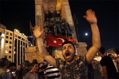 Мятеж в Турции
