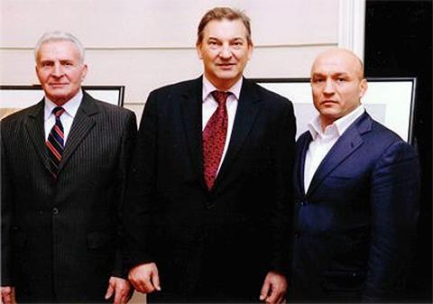 Григорий Карамалак и Владислав Третьяк