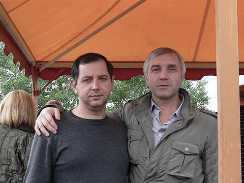Слева: Эрик Мажара, справа: Андрей Невзоров