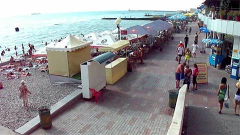 Пляж Маяк Сочи