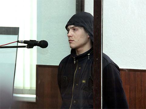 Александр Бычков на суде