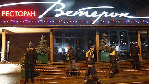 Ресторан Ветерок в подмосковном поселке Горки-2