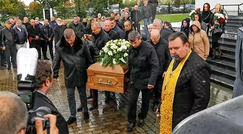 Похороны Николая Таранкова