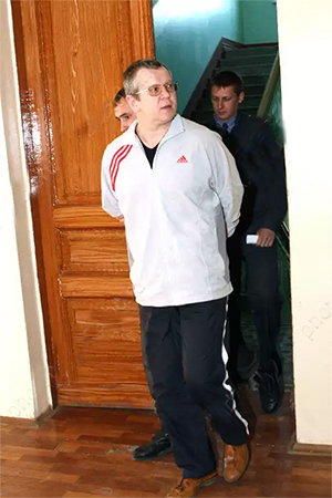 Арест Алексея Ерусланова