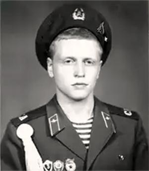 Дмитрий Барановский во время службы в армии