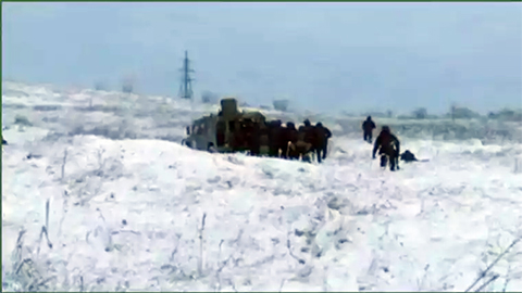 Банду добили в нескольких километрах от Грозного