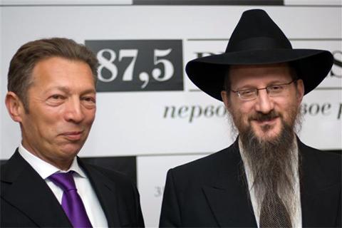 Аркадий Гайдамак и Берл Лазар