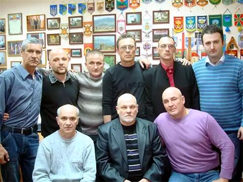 """Владимир Податев с членами движения """"Единство"""""""