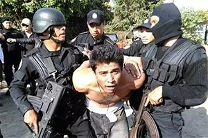 Опасный член банды Barrio-18 арестован в Гватемале