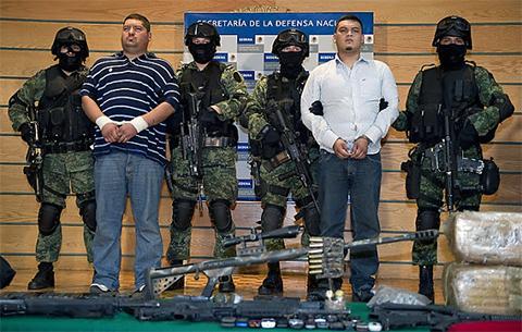 Арест нескольких участников Лос Зетас