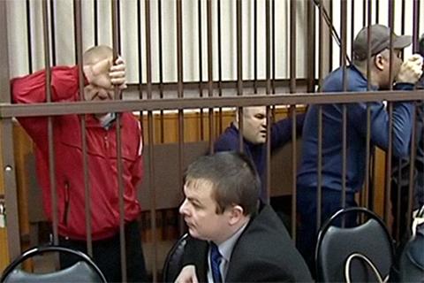 Подсудимые во время оглашения приговора