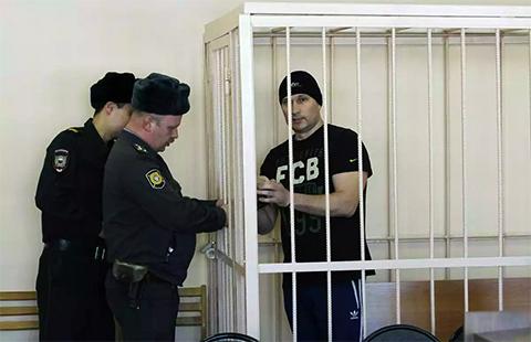 Сергей Вербовский в суде