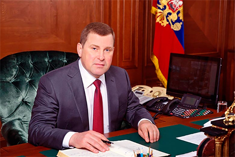 Начальник ГУ МВД России по Самарской области Сергей Солодовников