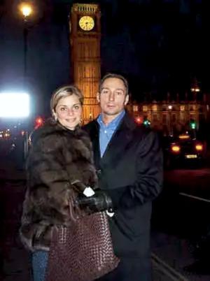 Вадим Чечель и Мария Строганова в Лондоне