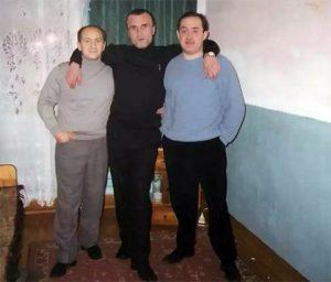 Слева воры в законе: Рамаз Дзнеладзе, Георгий Углава (Тахи) и Константин Гинзбург (Гизя)
