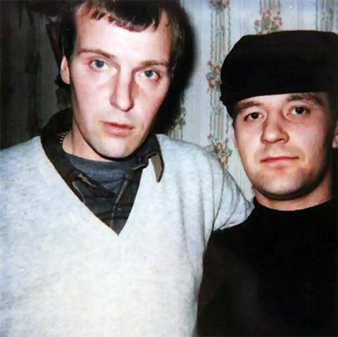 Слева: уголовный авторитет Владимир Никифоров - Длинный, вор в законе Сергей Бойцов - Боец