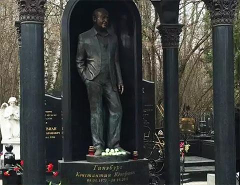 Могила Константина Гинзбурга
