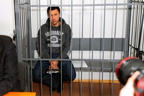Подсудимый Алексей Пьянков во время судебного процесса