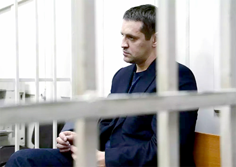 Андрей Икрамов в суде