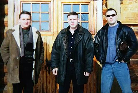 В центре: вор в законе Николай Балашов - Балаш