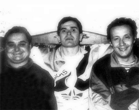 В центре: вор в законе Ильдар Касимов - Ильдар Ижевский