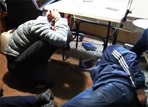 Задержание Курских авторитетов