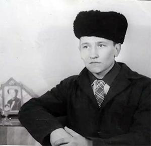 Саша Кушнер в молодости