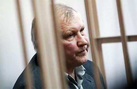 Михаил Глущенко на суде