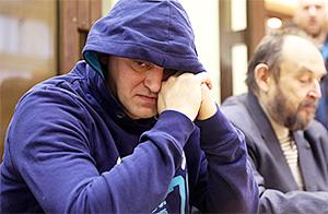 Вадим Митряков в суде