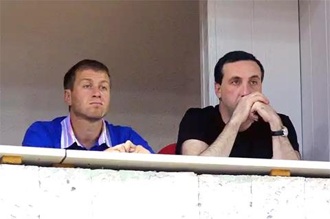 Слева: Роман Абрамович и Евгений Гинер