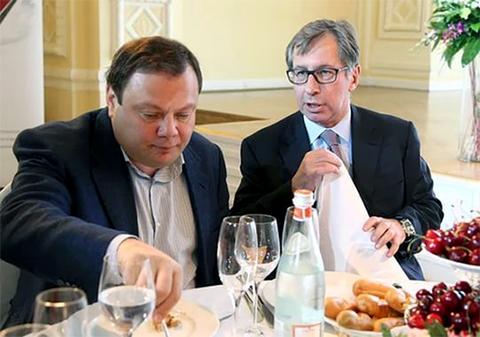 Слева: Михаил Фридман и Петр Авен