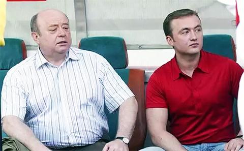Слева: директор внешней разведки РФ Михаил Фрадков с младшим сыном Павлом Фрадковым