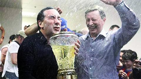 Слева: Евгений Гинер и бывший руководитель администрации президента РФ Сергей Иванов
