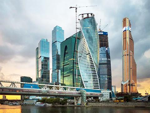 """""""Башни"""" в Москва-Сити"""