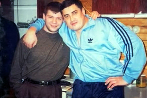 Справа - Адыган Саляхов