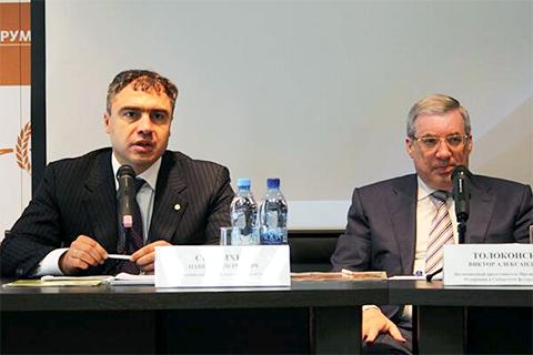 Слева: Павел Скурихин и Виктор Толоконский