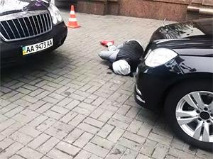 Предполагаемый киллер Дениса Вороненкова