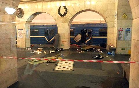 Взрыв метро в Питере