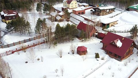 Дачный дом в деревне Макарово