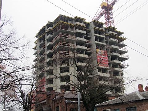 Дом не строится — квартиры продаются