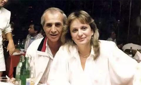 Вор в законе Радик Ходжабекян (Хдо) и Лиана Сырцова