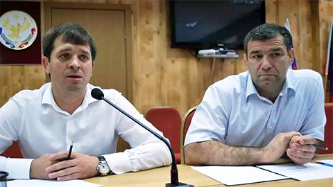 Слева: Андрей Виноградов и Сагид Муртазалиев