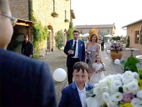Михаил Абызов играет свадьбу сына на Итальянской вилле