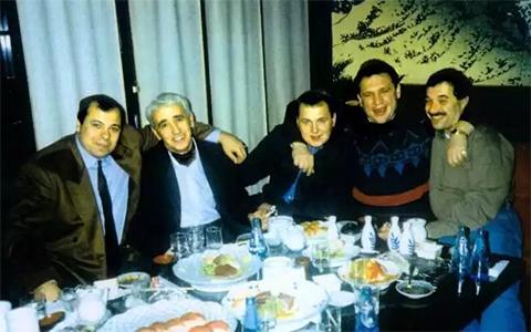 Слева направо: Михась, Джамал Хачидзе, Арноша Тамм, Витя Авера, Коротай
